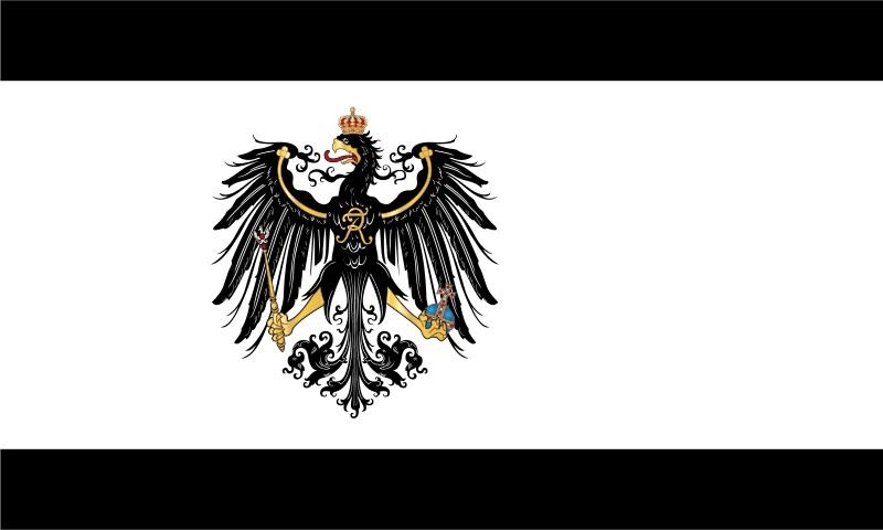 Bandera de Prusia