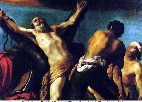Martirio del apostol Andres