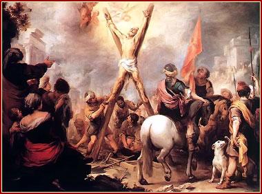 Crusificion de Andres Apostol